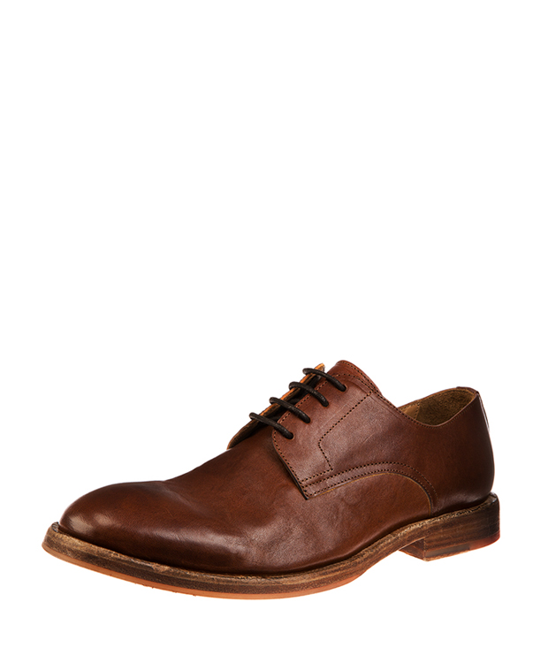ZEHA BERLIN Urban Calssics Men Dress shoe horse leather Men medium brown