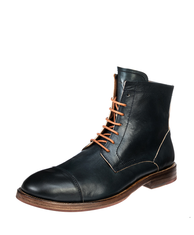 ZEHA BERLIN Urban Classics Men Ankle boot horse leather Men dark blue