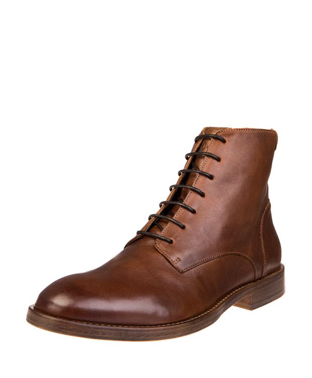 ZEHA BERLIN Urban Classics Ankle boot calf leather men cognac