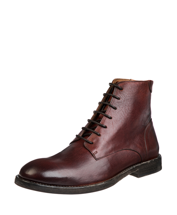ZEHA BERLIN Urban Classics Men Ankle boot calf leather Men cognac