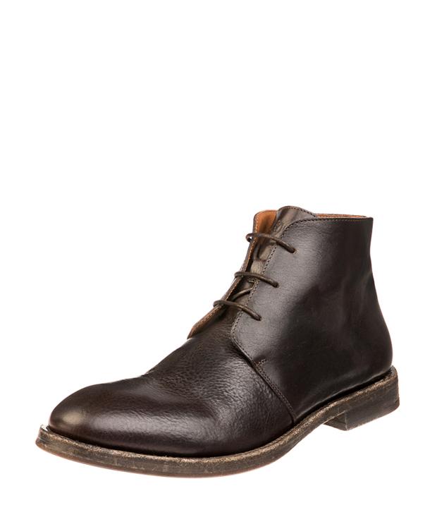 ZEHA BERLIN Urban Classics Men Lace-up ankle boot calf leather Men dark brown