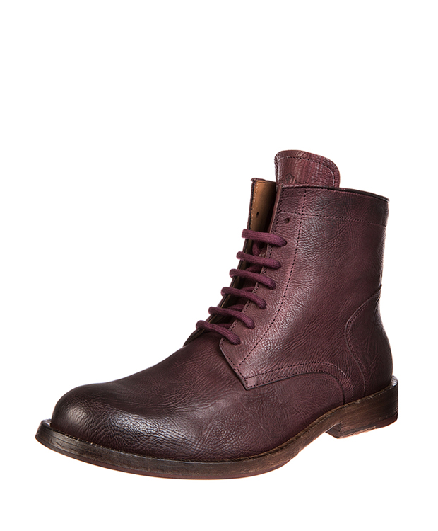 ZEHA BERLIN Urban Classics Men Ankle boot calf leather Men redbrown