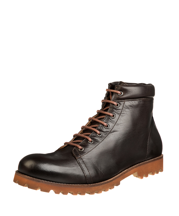 ZEHA BERLIN Urban Classics Men Lace-up ankle boot calf leather Men dark brown