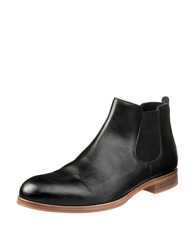 ZEHA BERLIN Ankle boot calf leather men black