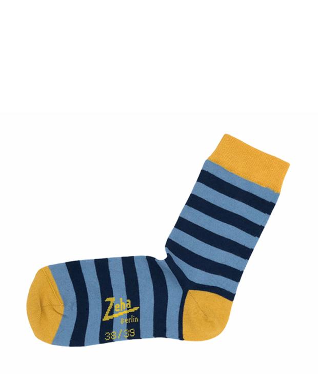 ZEHA BERLIN Accessoires Socken Unisex hellblau / blau / gelb