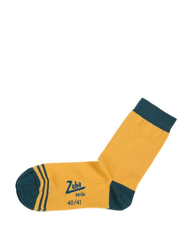 ZEHA BERLIN Accessoires Zeha Socken Unisex gelb / petrol
