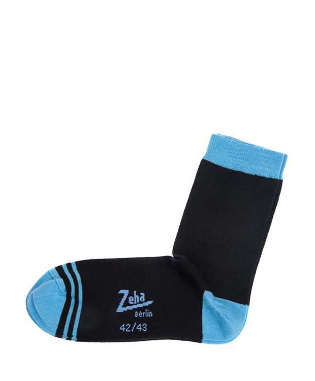 ZEHA BERLIN Accessories zeha socks Unisex dark blue / turquoise