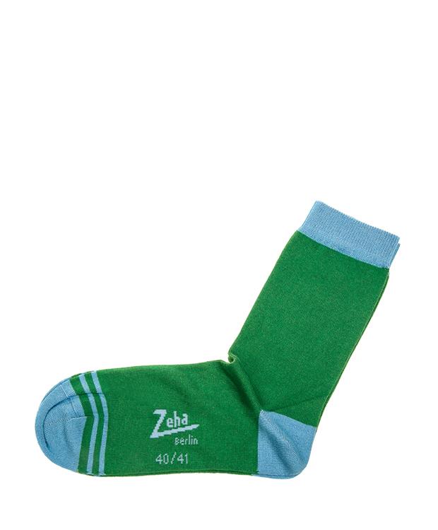 ZEHA BERLIN Accessories zeha socks Unisex green / mint turquoise