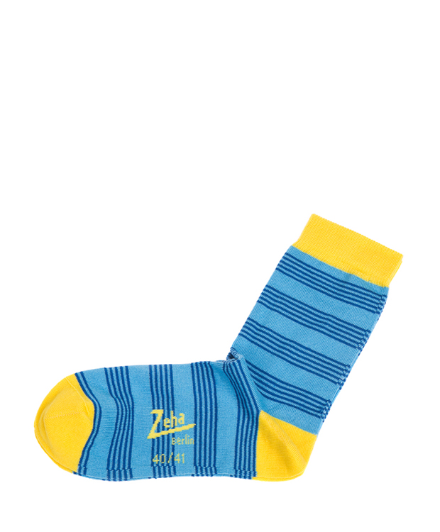 ZEHA BERLIN Accessories zeha socks Unisex turquoise / blue / yellow
