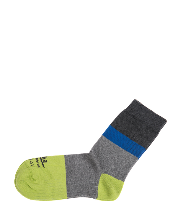 ZEHA BERLIN Accessoires Zeha Socken Unisex grau / grün / blau / dunkelgrau