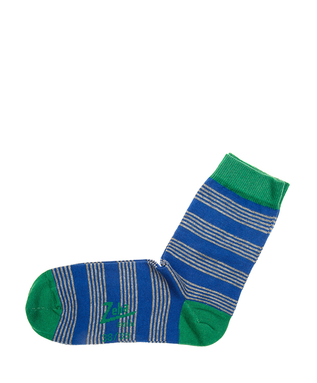 ZEHA BERLIN Accessoires Socks Unisex blue / grey / green