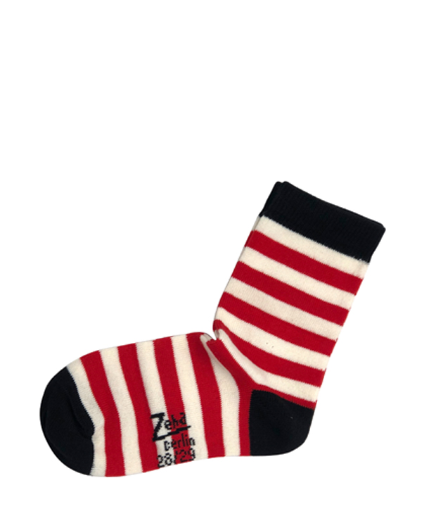ZEHA BERLIN Accessories Socks child red / cream / black