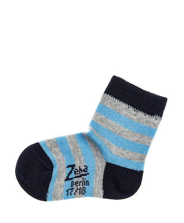 ZEHA BERLIN Accessoires Socks Child grey / light blue / dark blue
