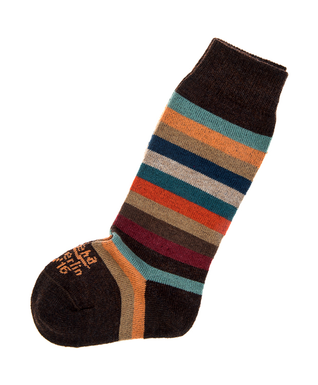 ZEHA BERLIN Accessoires Socks Child multicolour / brown melange