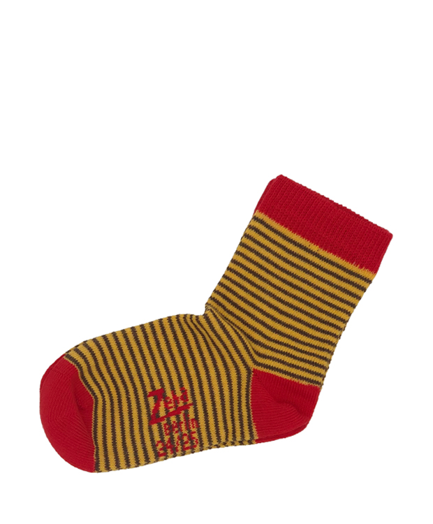 ZEHA BERLIN Accessoires Socks Child yellow / brown / red