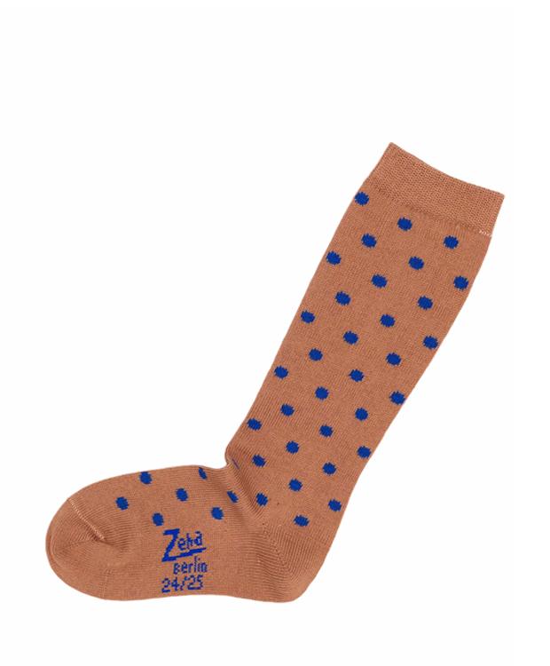 ZEHA BERLIN Accessories Baby- & children socks child cognac / light blue