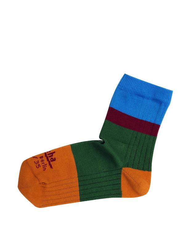 ZEHA BERLIN Accessories Baby- & children socks child green / orange / bordeaux / light blue
