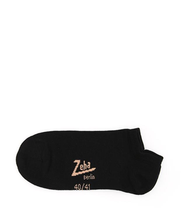 ZEHA BERLIN Accessoires Zeha Socken Unisex schwarz / cognac