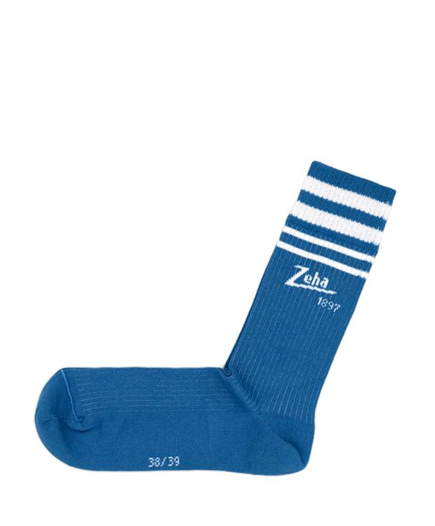 ZEHA BERLIN Accessories Zeha Socks - Special Edition 1897 Unisex grey blue / white