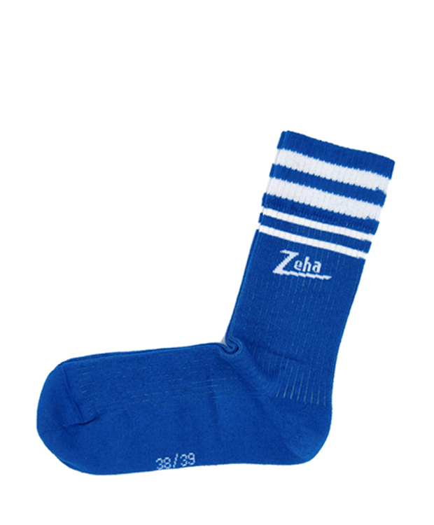 ZEHA BERLIN Accessories zeha socks Unisex blue / cream
