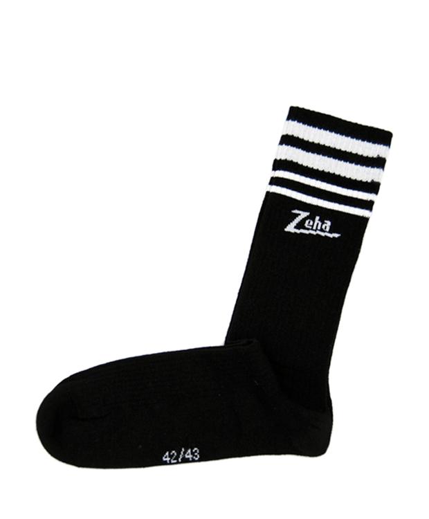 ZEHA BERLIN Accessoires Zeha Socken Unisex schwarz / weiß