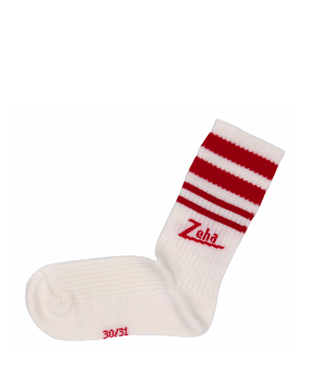 ZEHA BERLIN Accessories Baby- & children socks Unisex cream / red