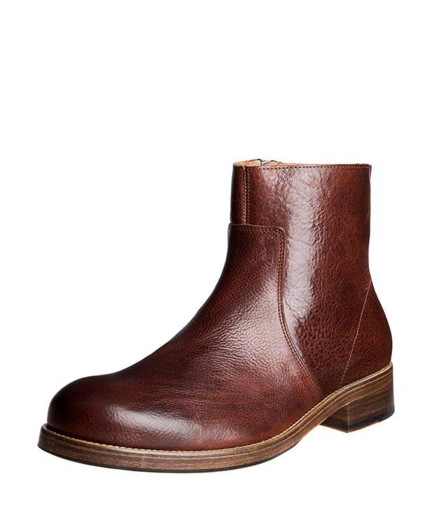 ZEHA BERLIN Urban Classics Ankle boot calf leather men medium brown