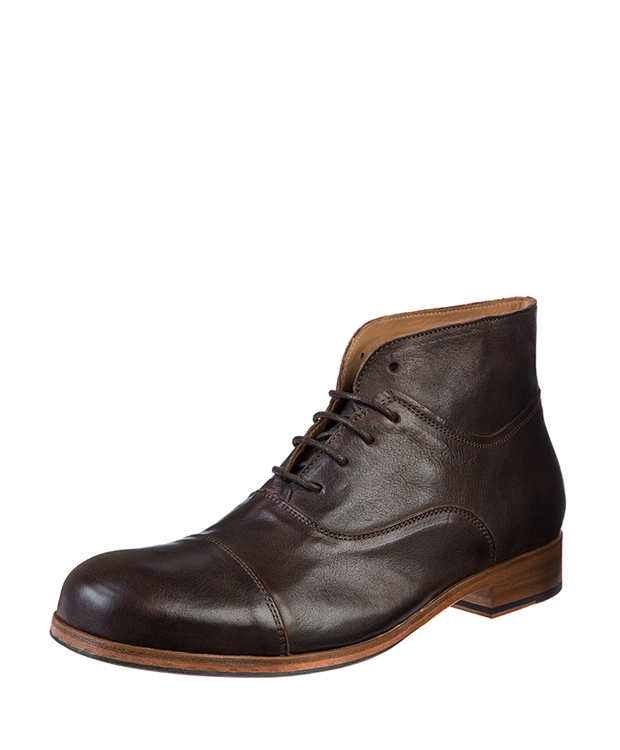 ZEHA BERLIN Urban Classics Men Lace-up ankle boot calf leather Men brown