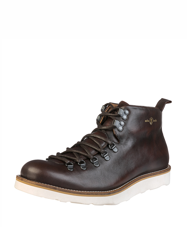 ZEHA BERLIN Urban Classics Ankle boot calf leather men maroon