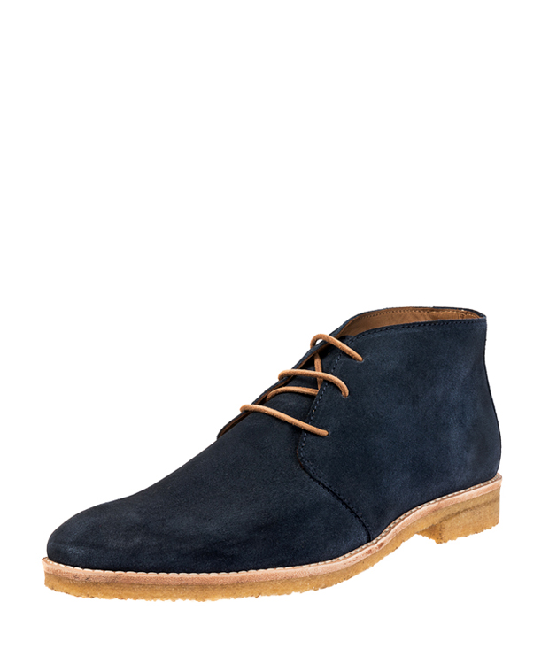 ZEHA BERLIN Urban Classics Ankle boot calf leather men blue