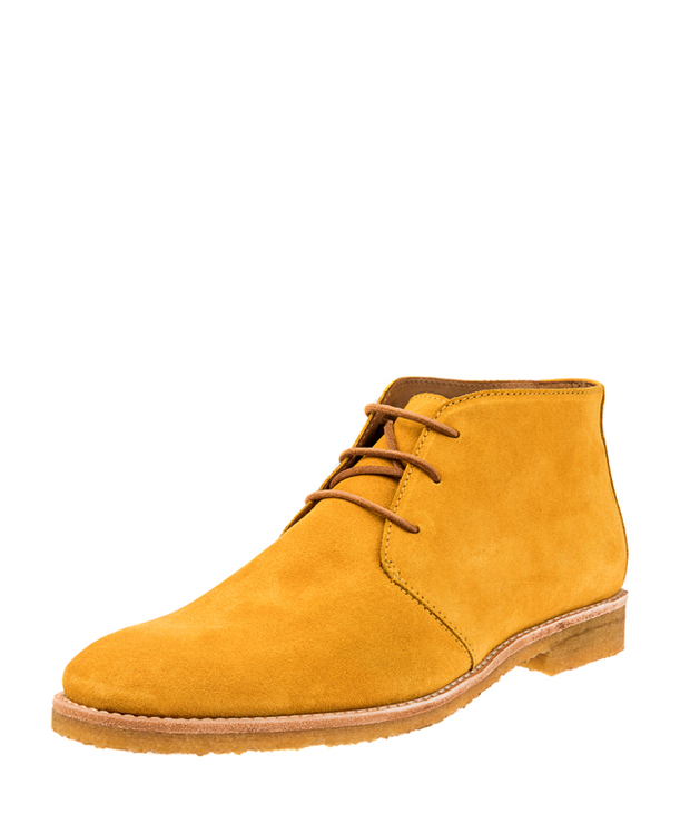 ZEHA BERLIN Urban Classics Ankle boot calf leather men yellow