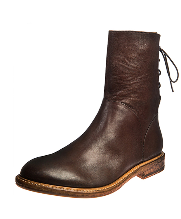 ZEHA BERLIN Urban Classics Women Ankle boot horse leather women red brown