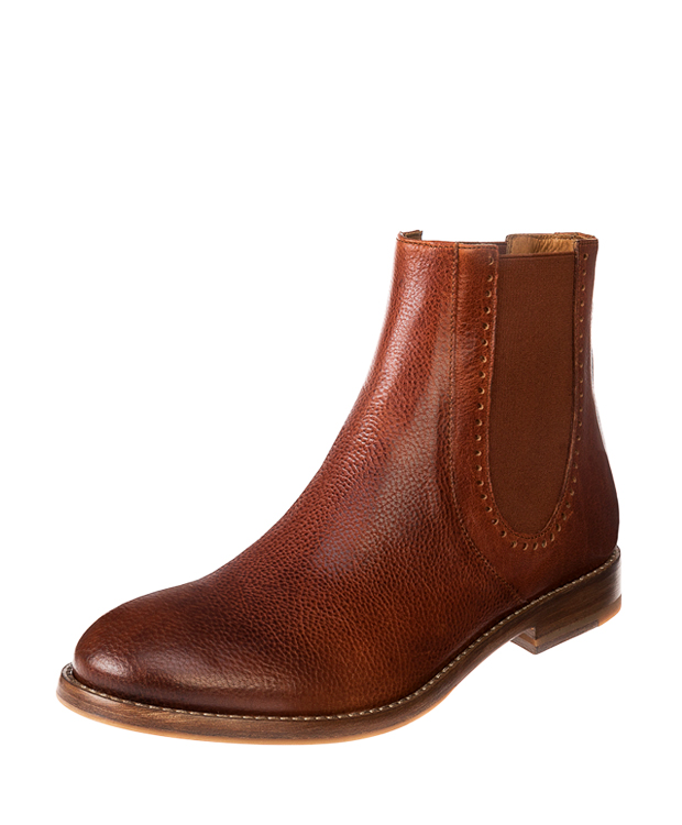 ZEHA BERLIN Urban Classics Women Ankle boot calf leather women cognac