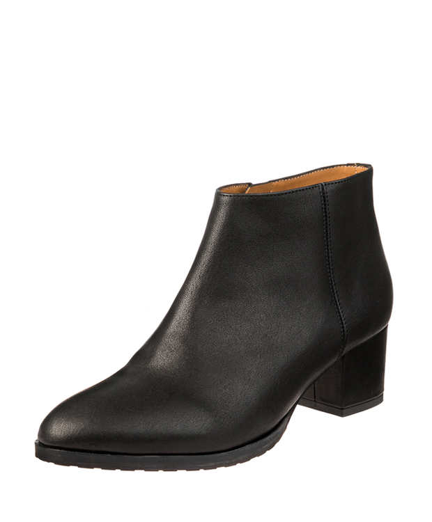 ZEHA BERLIN Urban Classics Ankle boot goat leather women black