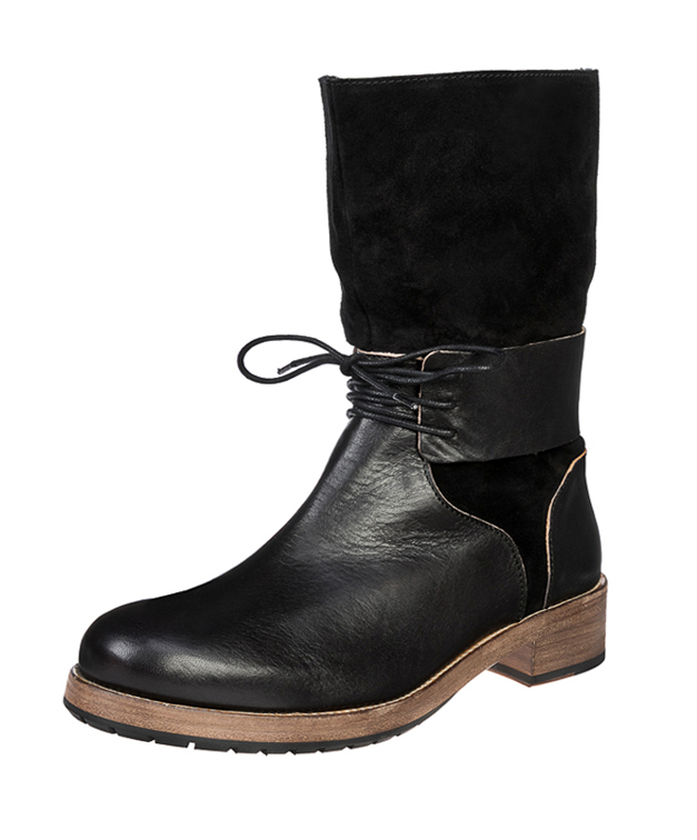 ZEHA BERLIN Urban Classics Women Boot cow leather, flank women black