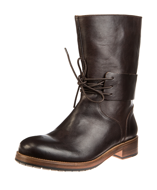 ZEHA BERLIN Urban Classics Women Boot horse leather women dark brown