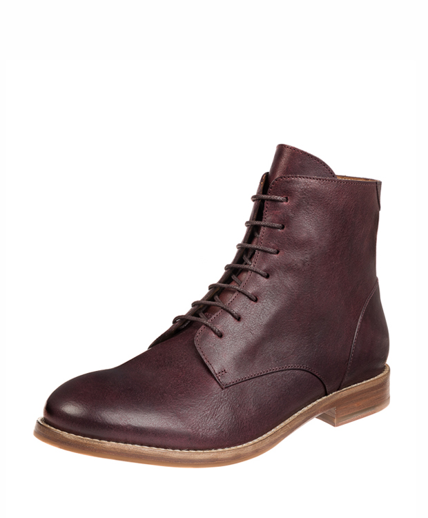 ZEHA BERLIN Urban Classics Ankle boot calf leather women bordeaux