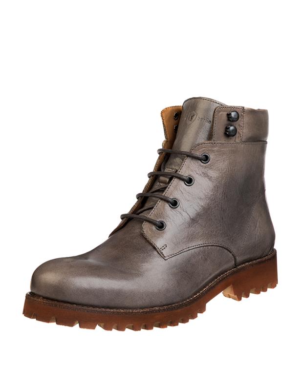 ZEHA BERLIN Urban Classics Women Ankle boot cow leather, flank women grey