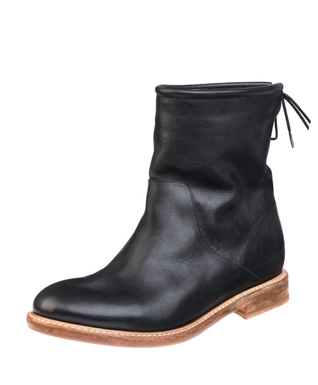 ZEHA BERLIN Urban Classics Women Ankle boot cow hide leather women black