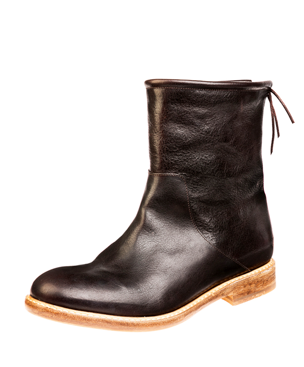 ZEHA BERLIN Urban Classics Women Ankle boot calf leather women dark brown