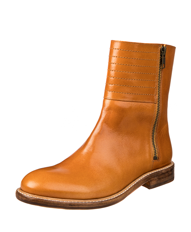 ZEHA BERLIN Urban Classics Ankle boot cow leather, flank women cognac