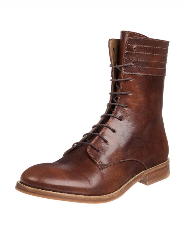 ZEHA BERLIN Urban Classics Ankle boot cow leather, flank Unisex cognac