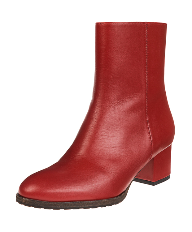 ZEHA BERLIN Urban Classics Ankle boot calf leather women red