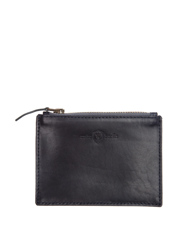 ZEHA BERLIN Accessories Wallets calf leather Unisex dark blue