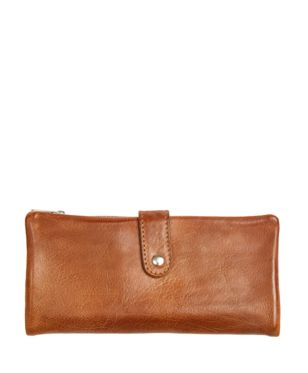 ZEHA BERLIN Accessoires Wallets calf leather Unisex cognac