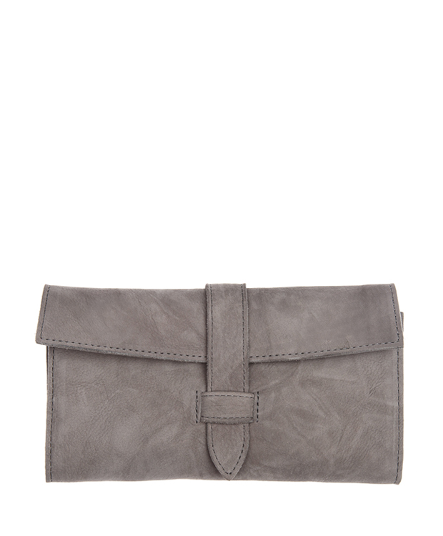 ZEHA BERLIN Accessoires Wallets calf leather Unisex grey