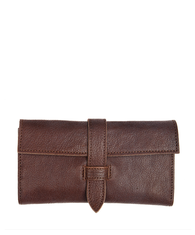 ZEHA BERLIN Accessoires Wallets calf leather Unisex brown
