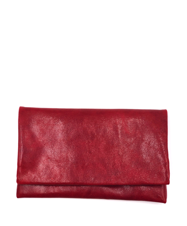 ZEHA BERLIN Accessoires Wallets calf leather Unisex red