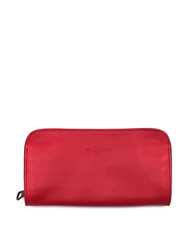 ZEHA BERLIN Accessoires Wallets cow hide leather Unisex red