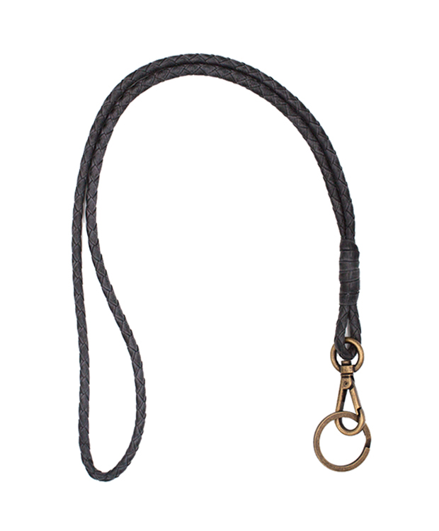 ZEHA BERLIN Accessoires Keychain cow hide leather unisex black